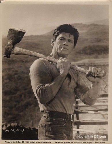 The Magnificent Seven - Publicity still of Charles Bronson