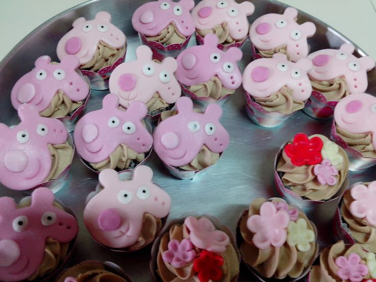 Cupcakes da pepa