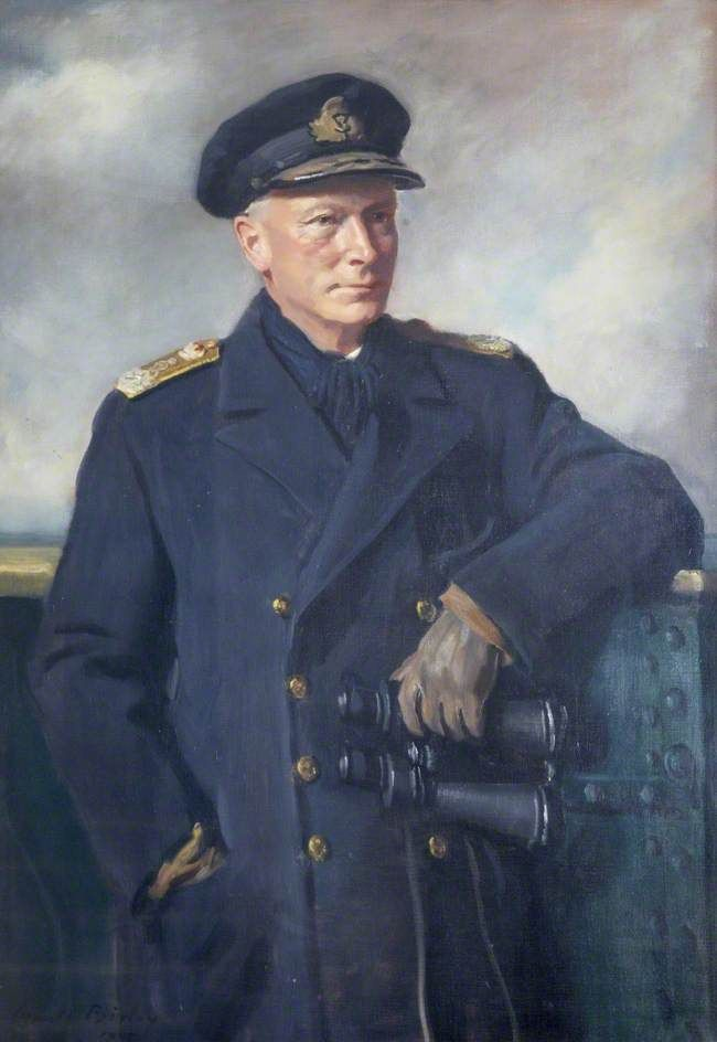 Admiral of the Fleet Lord Tovey (1885–1971), GCB