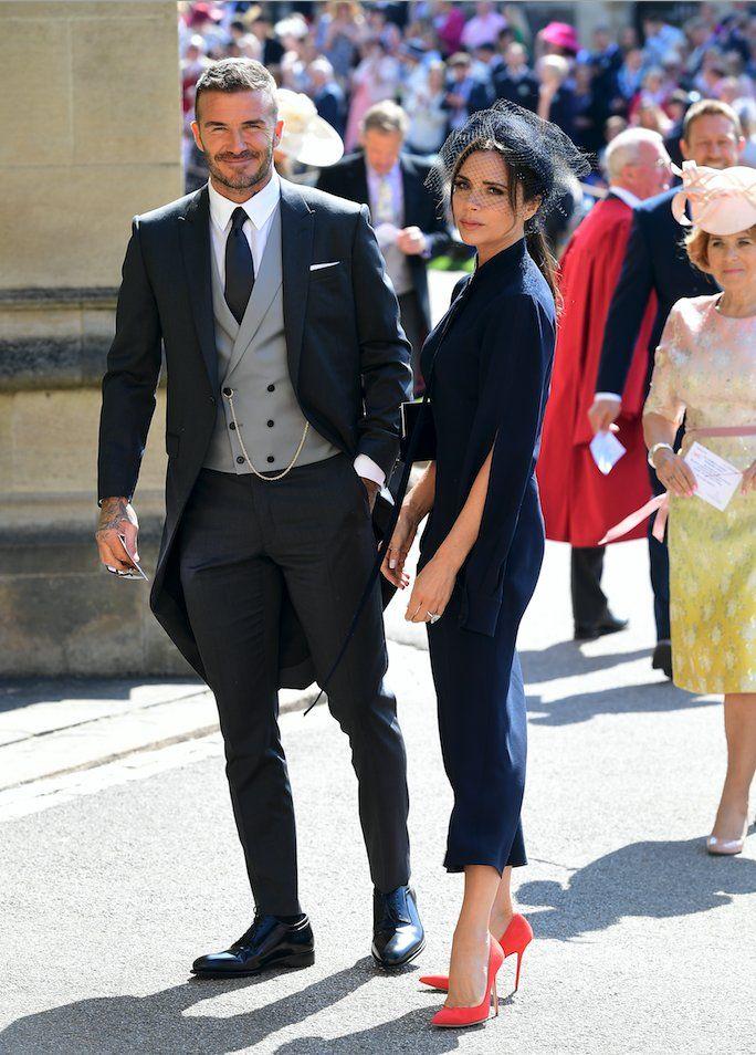 BuzzFeed UK on   David beckham   Groom tuxedo, Wedding suits