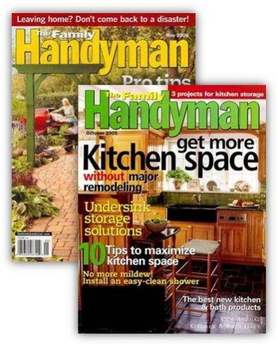 Think Father's Day: Family Handyman magazine for $6.99 per year! Today only, you can get a one year subscription to Family Handyman magazine for $6.99 per year when you use coupon code MONEYSAVING at checkout. You can order up to four years at this price.