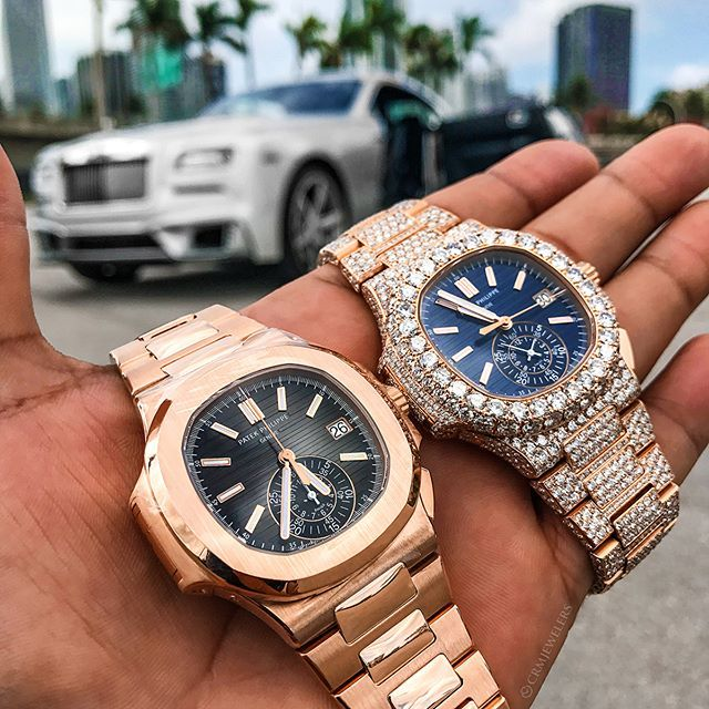 Double Trouble Which Is Youir Choice Plain Jane 105000 Bust Down 130000 Mvpexoticsmiami Rolexaholics Malefas Cool Watches Mens Style Guide Watches