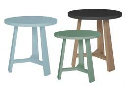 Tripod Round Side Table