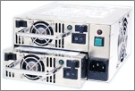 Power supply units for computers should have a minimum of 18A. How much power your system needs depends on the number of components.  http://www.mypccase.com/pc-cases.html