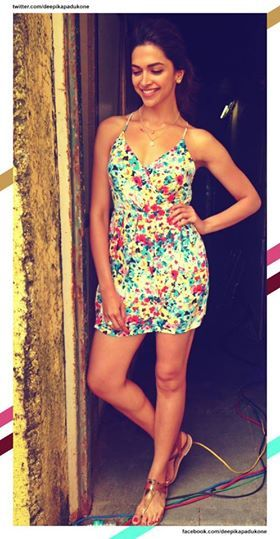 Here's an exclusive image of Deepika Padukone from the Finding Fanny music launch event!