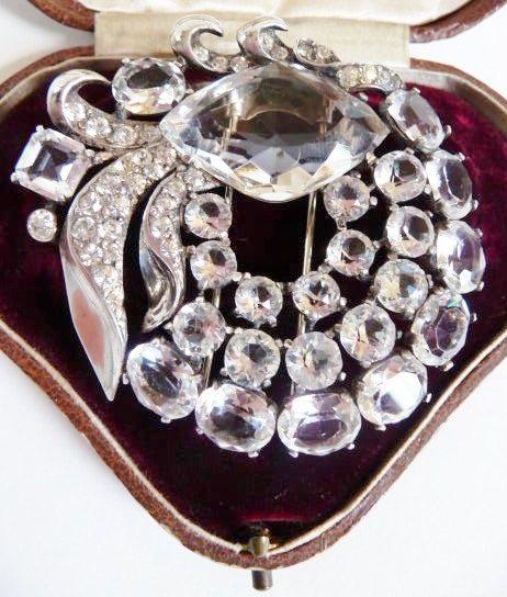 Eisenberg Original sterling silver fur pin by cherrylippedroses