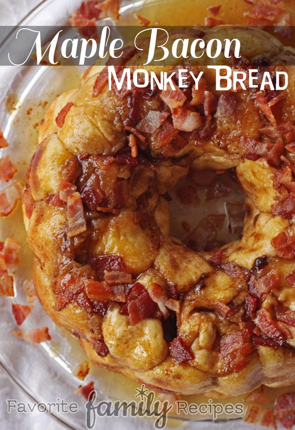 Maple Bacon Monkey Bread It's also delicious when you make this bread with bacon, it just melt in your mouth. Something like the recipe here below, the last one for this list.