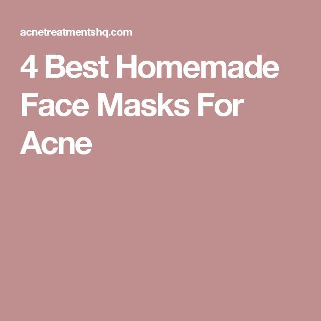 4 Best Homemade Face Masks For Acne