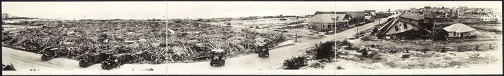 The destruction of Corpus Christi in the aftermath of the 1919 Florida Keys Hurricane [4542 x 693]