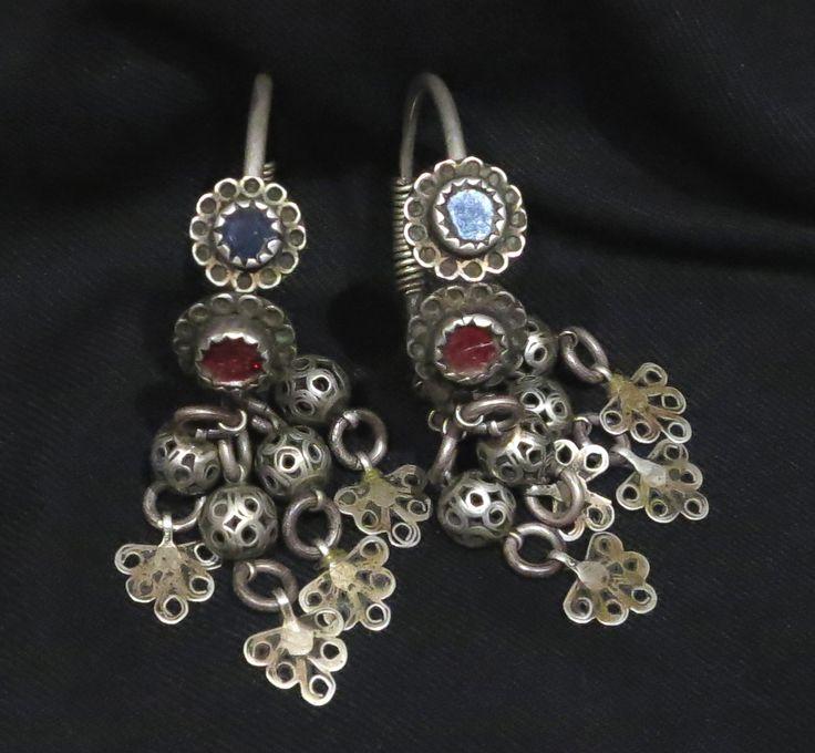 Berber Earrings - Ouarzazate, Morocco