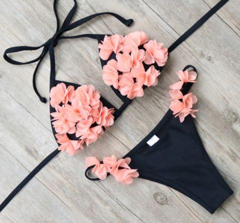 itsy floral bikini - girl heaven