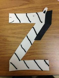 Letter Z Crafts For Kids - Preschool Crafts