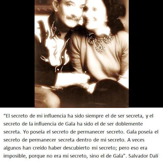 """…""""No era mi secreto, sino el de Gala"""". Salvador Dalí http://es.paperblog.com/frases-celebres-xi-dali-1596054/ https://plus.google.com/100476062100369872629/posts/aJa3PSLj7Dd"""