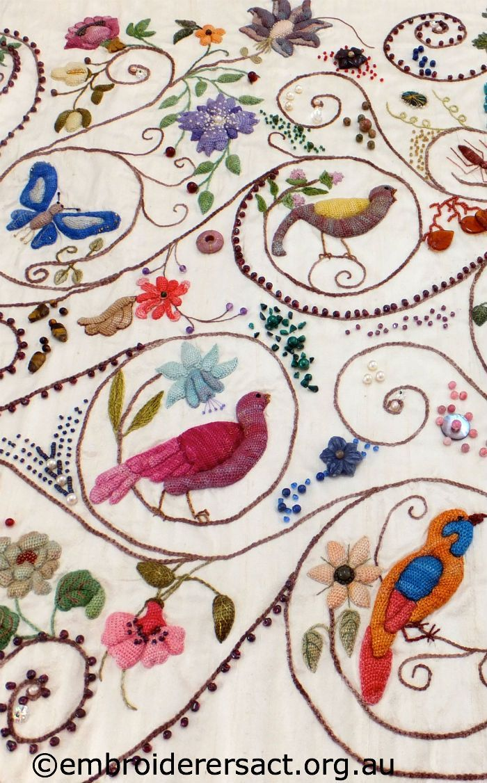 Jacobean Embroidery Crewel Embroidery Embroidery Patterns Vintage Crewel Embroidery Patterns