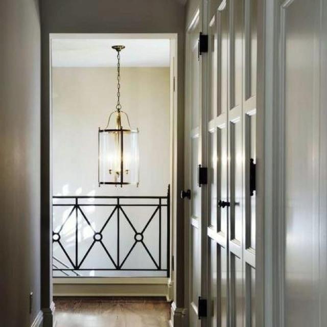 Railing & closet doors