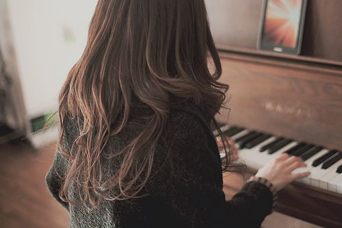 """Ever since I was a girl i've dreamed of becoming a professional pianist."""