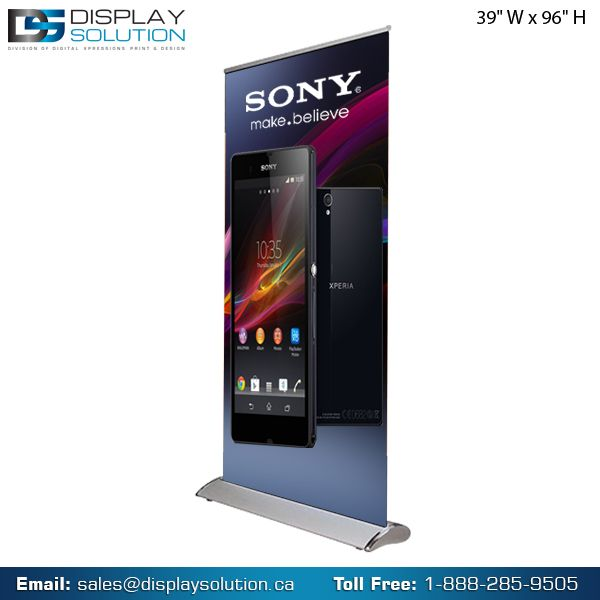 #Scrolling #Stands – Sturdy yet Affordable to Showcase the Business Message Around! Banner stands are an inexpensive and effective way to attract people to your business. Completely handy, they can be taken indoors at the end of the day or quickly repositioned at any time as needed. SHOP NOW: https://displaysolution.ca/banner-stand.html #Toronto #Canada