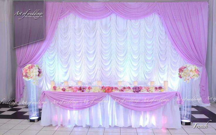 "Wedding presidium French by ""artofweddings.lv"""
