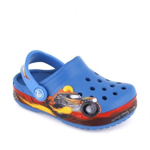 Sandale plaja baieti Monster Truck - Crocs