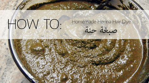 how to make hair dye hashy