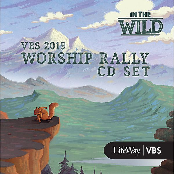Worship Rally CD Set - In The Wild VBS by LifeWay | In the