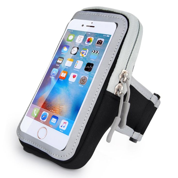 iPhone Sports Armband, CIQILY Breathable Running Workouts Armband Waterproof Adjustable Sports Armbag Touchscreen Pouch Multifunctional Pockets for iPhone 7 6 6S 5S SE iPod Touch and Android phone. Cell phone holder for running: Full screen converage and sensitive touch materials, fit different size phone. Crystal clear and Sensitive protective film retain full touch screen function, get freely in sports. Created for Sports: Double Adjustable soft elastic with Velcro that fit for…