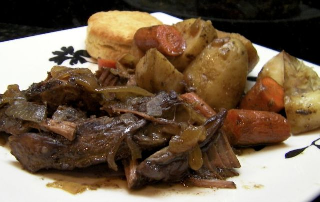 Crock Pot Family Pot Roast