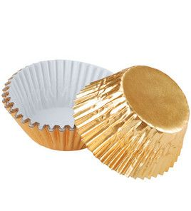 Going for gold! Baking cups from @Wilton Cake Decorating #olympics #party