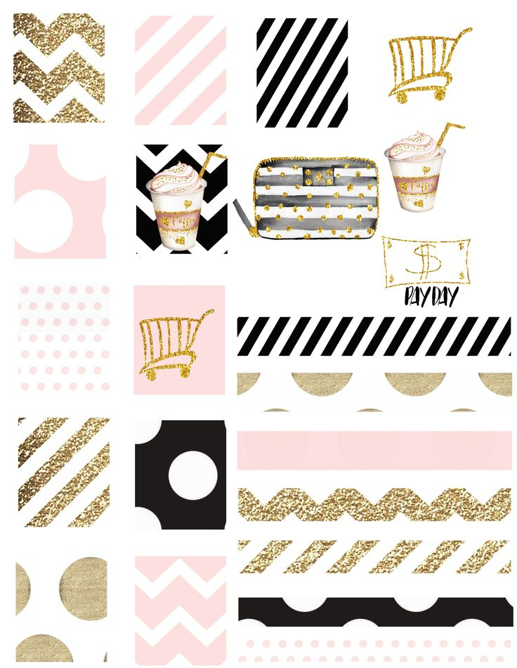 Wink Pink Planner Set Planner Stickers Kikki K Filofax Kate Spade