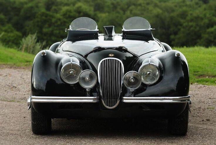 Clásico de 1951 Jaguar XK120