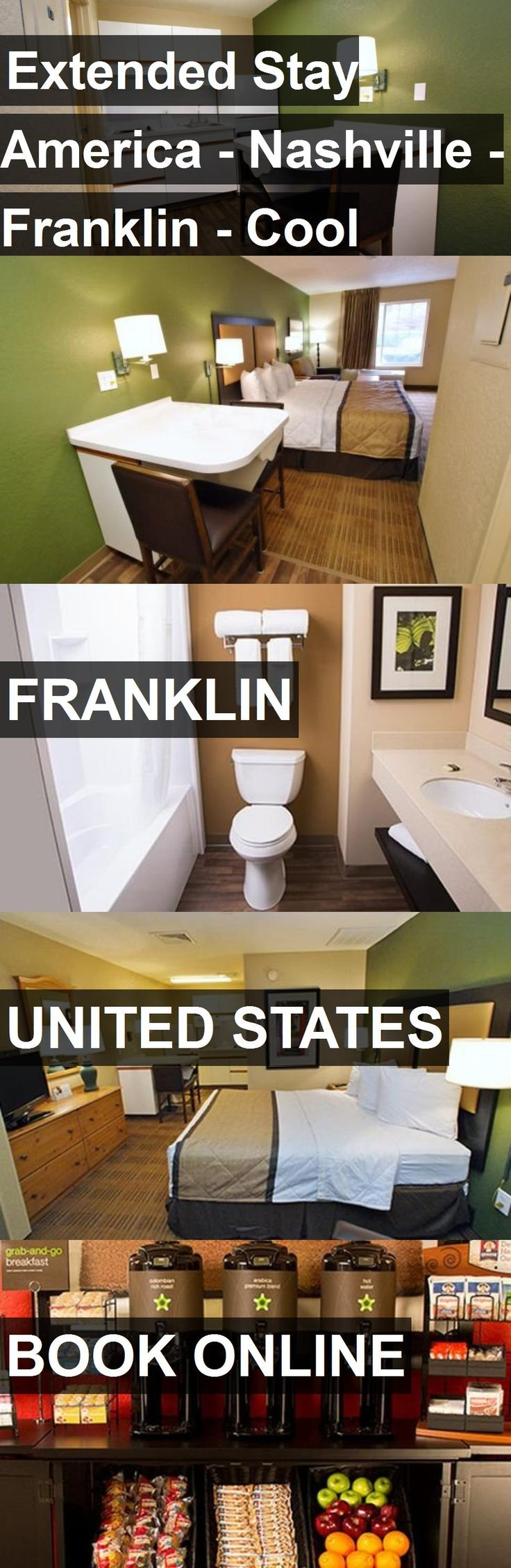 Hotel Extended Stay America - Nashville - Franklin - Cool Springs in Franklin, United States. For more information, photos, reviews and best prices please follow the link. #UnitedStates #Franklin #travel #vacation #hotel