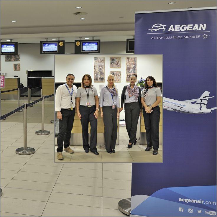 Η αναμνηστική μας ,ομολογουμένως πολύ πρωινή, φωτογραφία στην αίθουσα των αναχωρήσεων του αεροδρομίου της Πάφου .Διακρίνονται η κυρίες Sparsi Dona Aegean Station Manager , Eleni Christodoulou Aegean Senior Supervisor ο κύριος Diogenis Ioannou LGS PFO Manager καθώς και δύο κυρίες από το Ground Team της LGS PFO. Τους Ευχαριστώ όλους πολύ για την όλη άψογη διαχείριση!