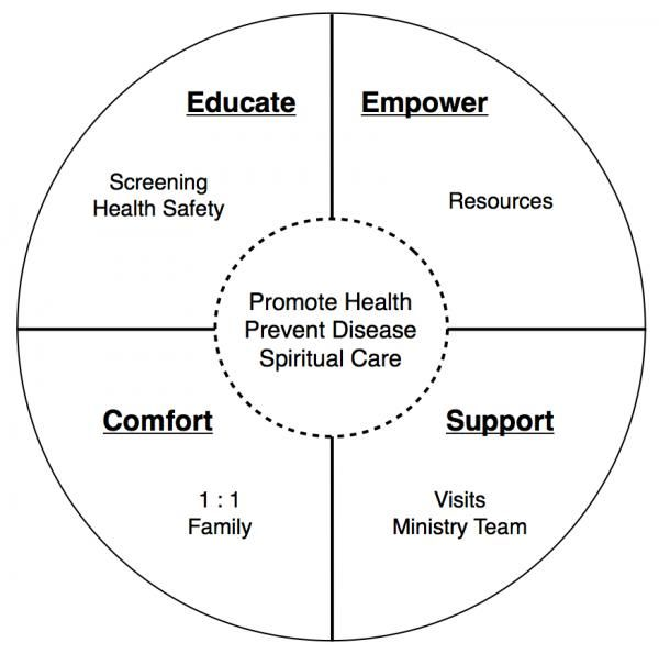 Parish Nursing Diagram 2013