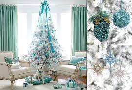 sea blue treeHoliday, White Christmas Trees, Decor Ideas, Blue Christmas, Tiffany Blue, Tiffanyblue, Colors Schemes, Christmas Decor, Aqua