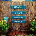 Swimming Pool Signs Decorations