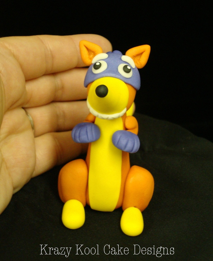Swiper The Fox From Dora The Explorer Cake Topper