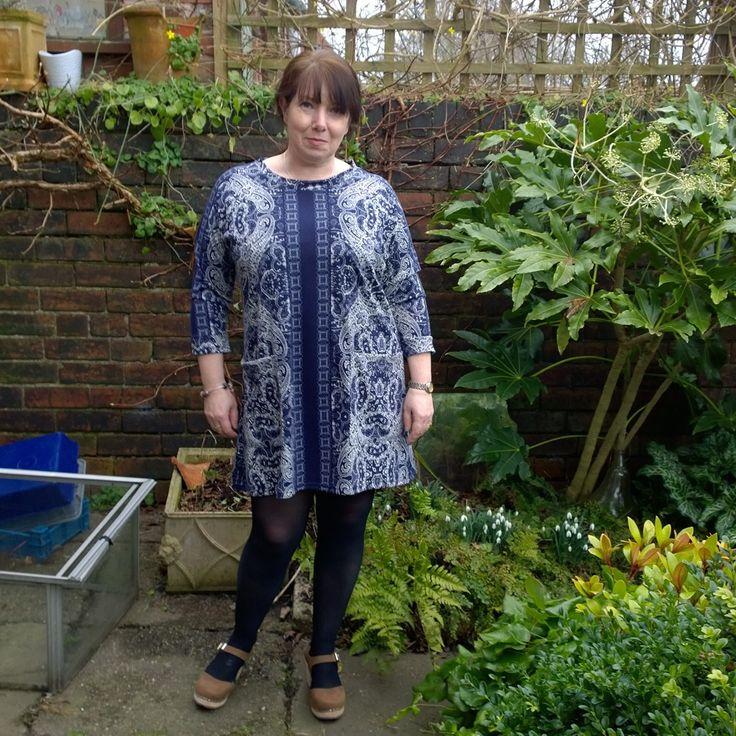 @jeanettearcher weekend Doris dress