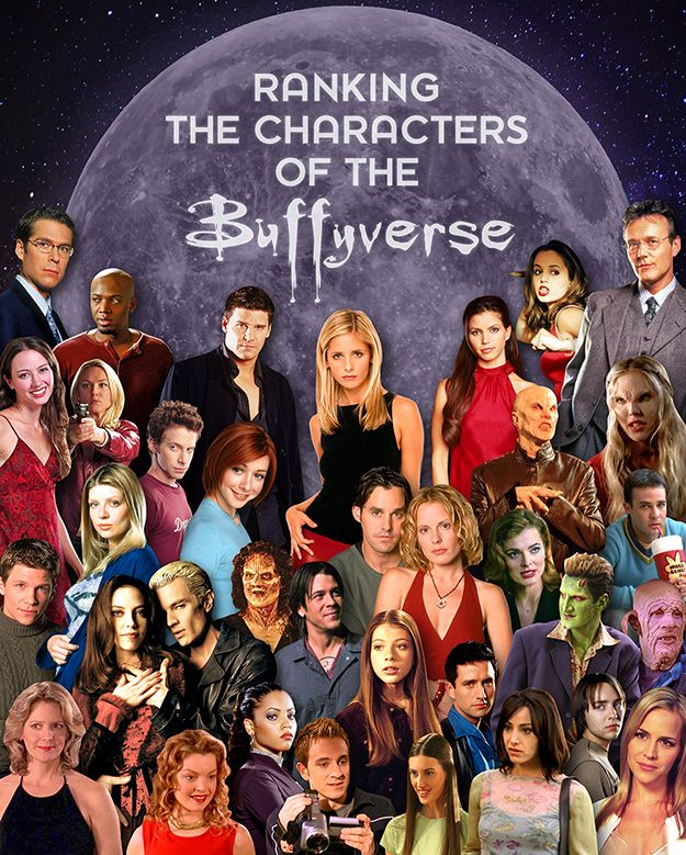 quite literally the worst list of all time, but oh, the memories those names and photos evoked  #Buffy4Eva