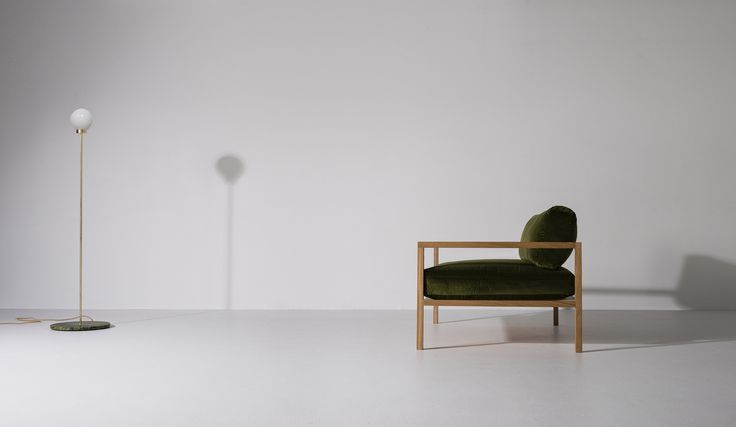 PARE Floor Lamp 01 and our new RD Sofa. Part of the New Work released for Spring 2016