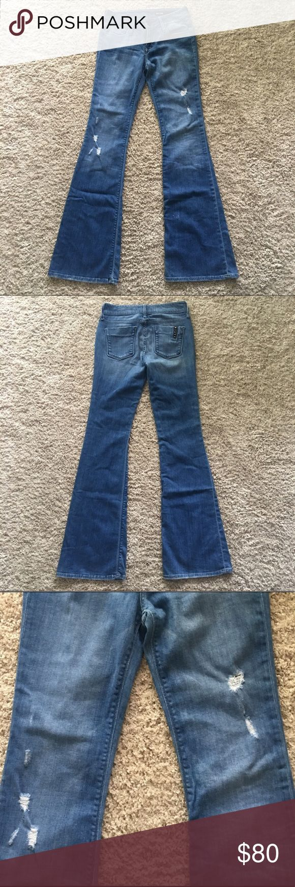 """Black Orchid Wide Leg Jeans Amazing jeans. Will give you that long leg look. Length: 33.5"""". Flare width: 10"""" Black Orchid Jeans Flare & Wide Leg"""