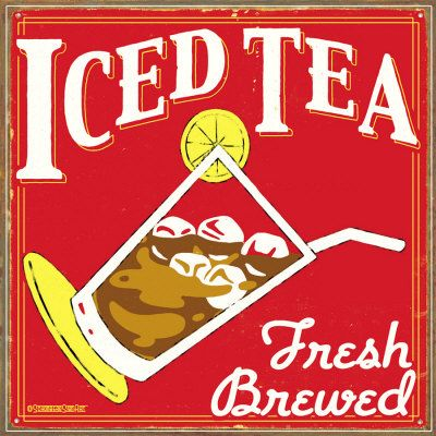 Iced Tea ~ June 10th is National Iced Tea Day!  (Let's start celebrating early)