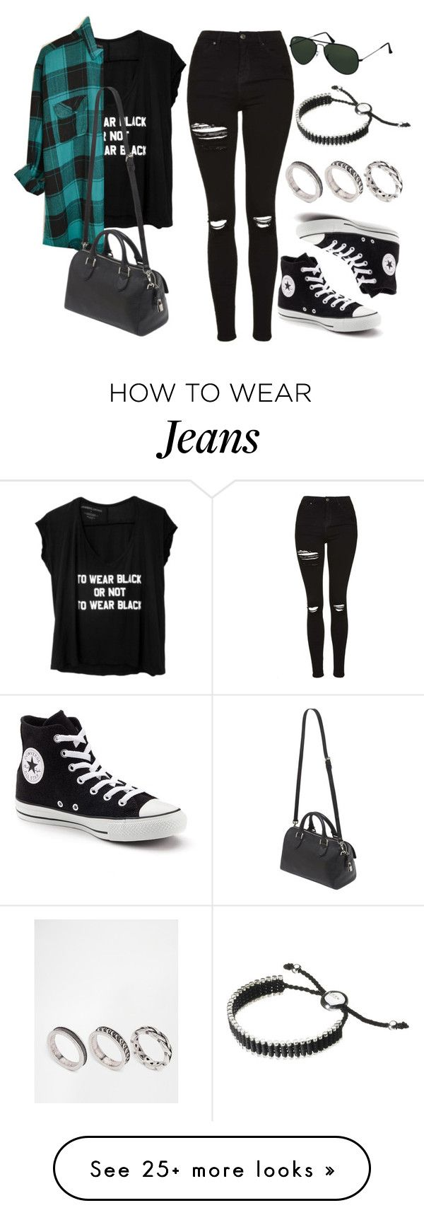 """Style #10192"" by vany-alvarado on Polyvore featuring Topshop, Converse, Mulberry, Ray-Ban, ASOS and Links of London"