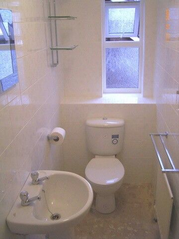 White cloakroom