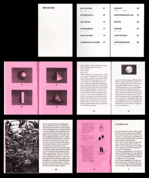 Risograph printed book from Timo Lenzen who has just updated his website and his work.