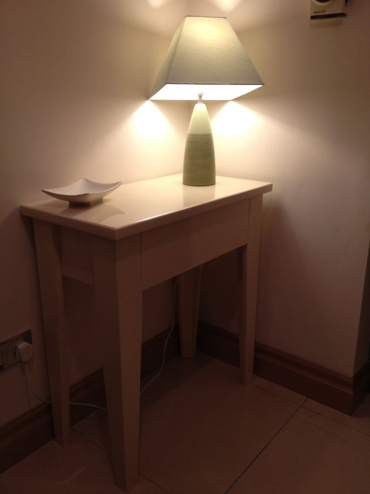 Hall table with a drawer