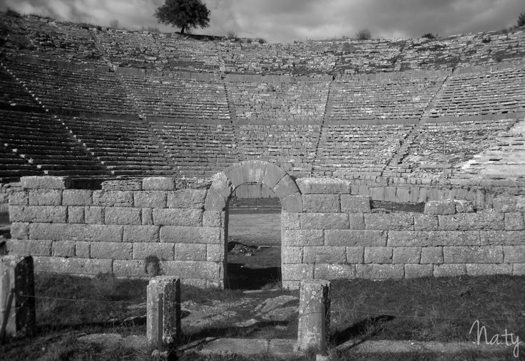 Ancient Theater of Dodoni, Ioannina