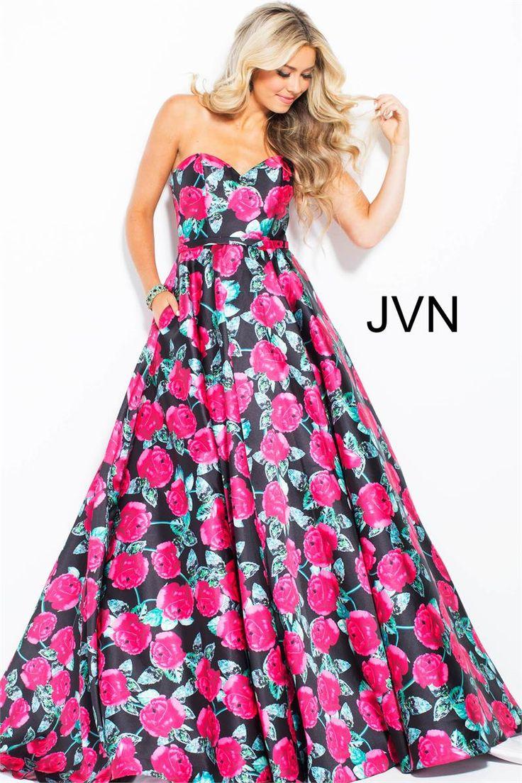 Mejores 286 imágenes de JVN by Jovani Dresses en Pinterest | Vestido ...