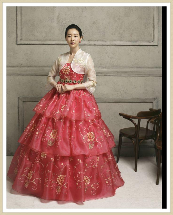 Korean fusion hanbok dress modern hanbok dress for women seoulstory7