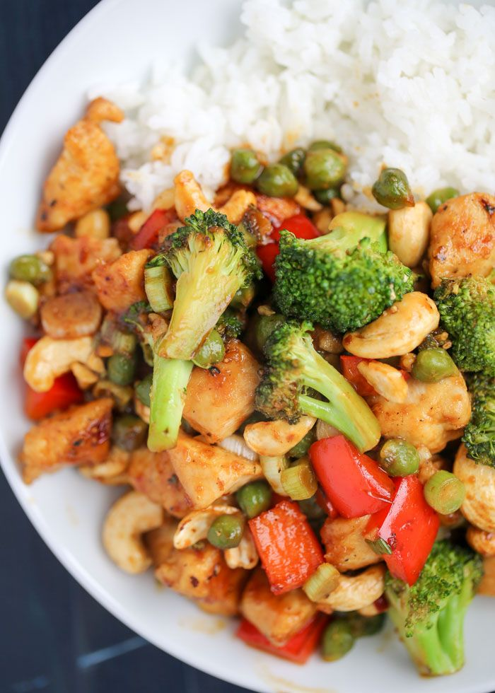 Cashew Veggie Stir Fry With Chicken Or Tofu One Dish Two Ways Recipe Veggie Stir Fry Tofu Stir Fry Cabbage Soup Recipes