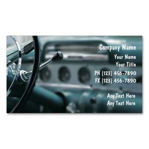 19 best Auto Mechanic Business Cards images on Pinterest | Auto ...